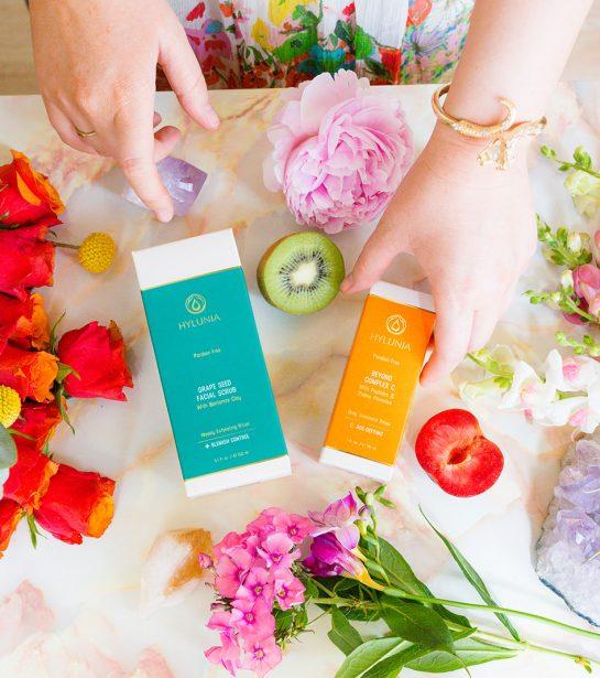 Holiday Organic Skin Care- Lifestyle Shoot